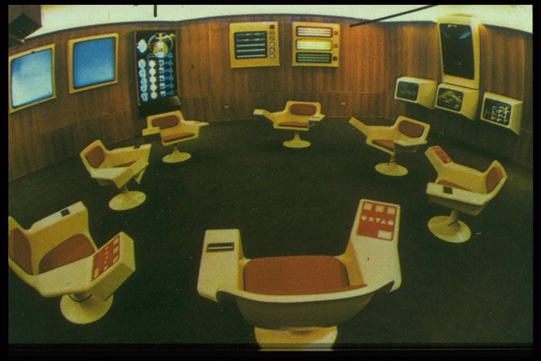 Control Room for Project Cybersyn