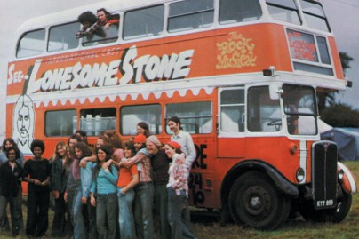 Lonesome stone bus