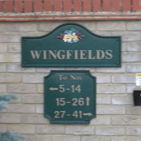 Wingfields sign
